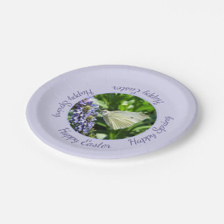 Happy Easter Happy Spring Party 7 Inch Paper Plate