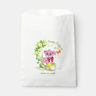 Happy Easter Heart Nose Puppy Cartoon Favour Bag