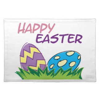 Happy Easter Home Decorations Placemat