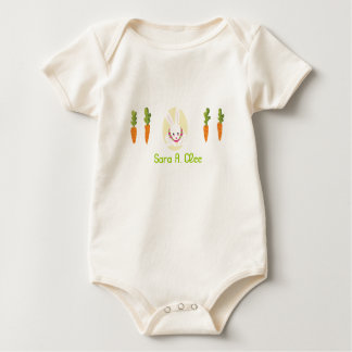 "Happy Easter! ""Hop, Jump, Skip Baby Bodysuit"