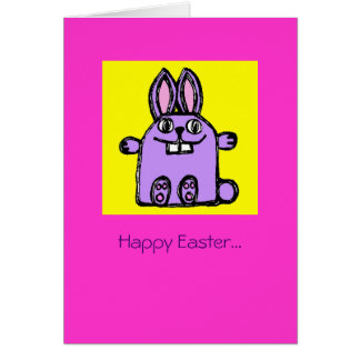 Happy Easter Hunny Bunny! Greeting Card