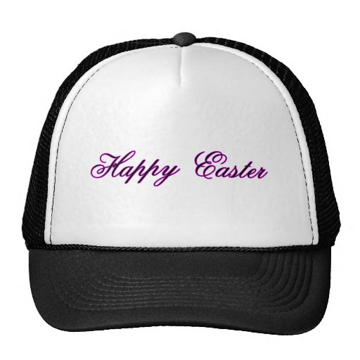 Happy Easter l Magenta The MUSEUM Zazzle Gifts Hat