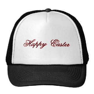 Happy Easter l Red The MUSEUM Zazzle Gifts Cap