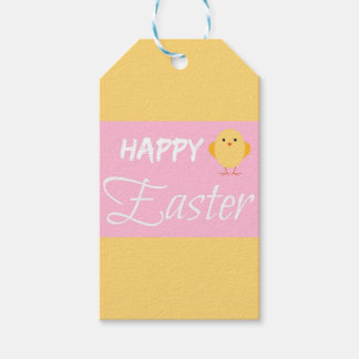 Happy Easter Little Chick Gift Tags