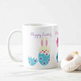 Happy Easter Mug easter bunny smiling