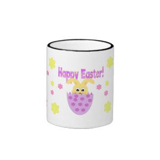 Happy Easter mug with bunny