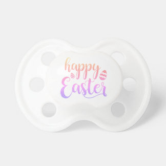 Happy Easter Multi-colored Easter Egg Typography Dummy