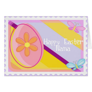Happy Easter Nana Card