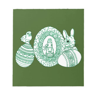 Happy Easter Notepad