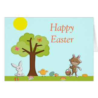 Happy Easter Outdoor Celebration Card