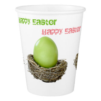 HAPPY EASTER PAPER CUPS