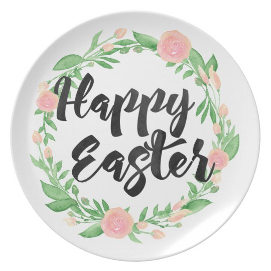 Happy Easter Party Plates