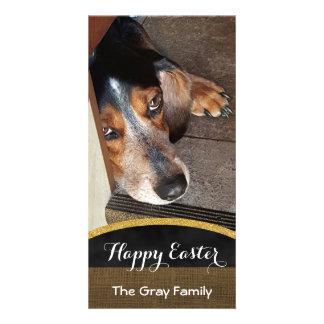 Happy Easter | Pet Photo DIY Beagle Dog Card