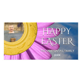 Happy Easter Photo | Daisy Spring Day Sky Photo Cards