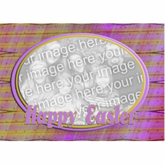 Happy Easter photo frame Photo Cut Out