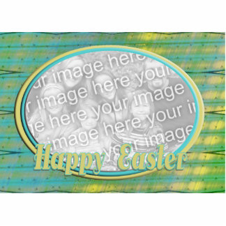 Happy Easter photo frame Standing Photo Sculpture