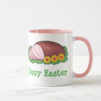 Happy Easter Pink Glazed Holiday Ham Foodie Mug