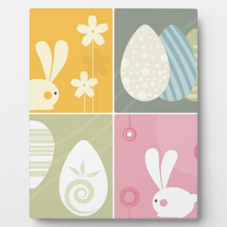 Happy Easter Plaques