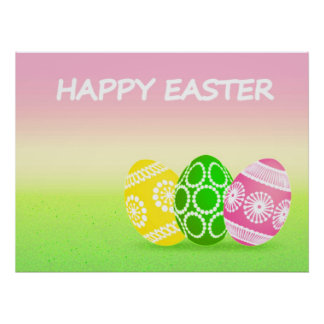 HAPPY EASTER POSTERS