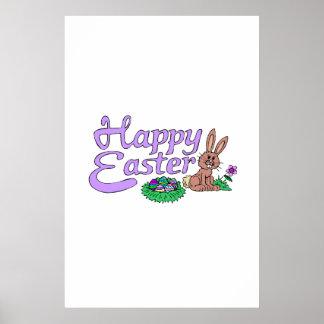 Happy Easter Print