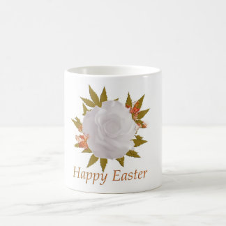 Happy Easter Rose Mug
