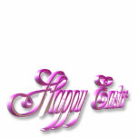 Happy Easter sign Acrylic Cut Outs