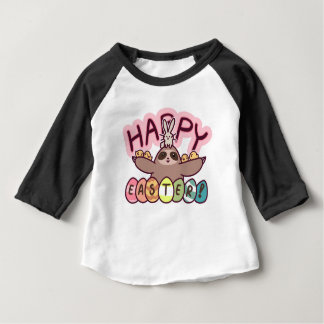 Happy Easter Sloth Baby T-Shirt
