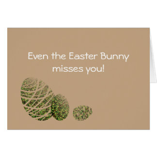Happy Easter Soldier Card