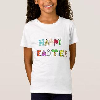 Happy Easter t-shirt design kids animal design tee