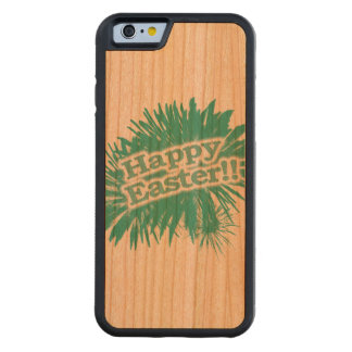 Happy Easter Theme Design Carved Cherry iPhone 6 Bumper Case