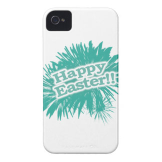 Happy Easter Theme Design iPhone 4 Case-Mate Cases