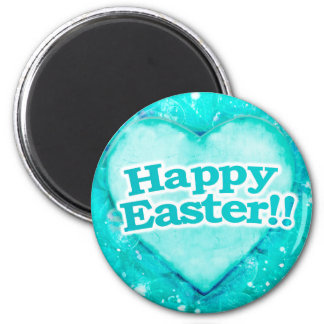 Happy Easter Theme Graphic Magnet