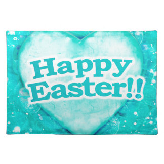 Happy Easter Theme Graphic Place Mats