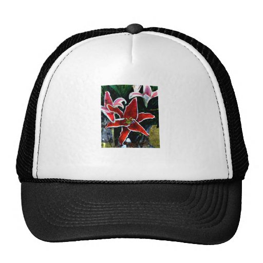 Happy Easter Tiger Lily The MUSEUM Zazzle Gifts Trucker Hats