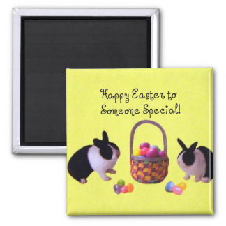 Happy Easter to Someone Special! Square Magnet