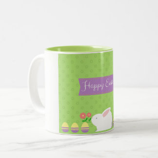 Happy Easter! Two-Tone Coffee Mug