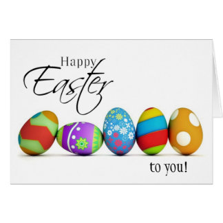 Happy Easter Wishes Card
