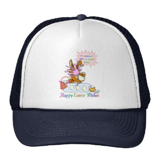 Happy Easter Wishes Trucker Hat