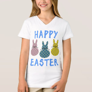 Happy Easter with Three Bunnies T-Shirt