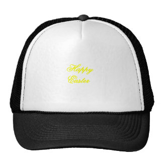 Happy Easter Yellow The MUSEUM Zazzle Gifts Cap