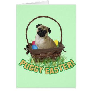 Happy Eastern Pug Card