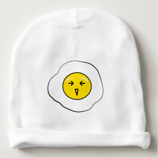 Happy egg baby beanie