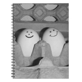 Happy Egg Friends Folder for School or Notes Notebook