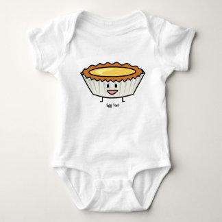 Happy Egg Tart Custard crust Chinese dessert Baby Bodysuit