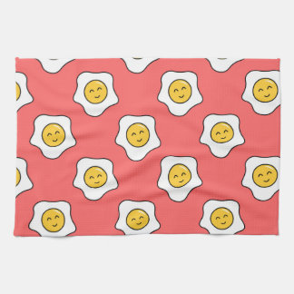 Happy Eggy Cute Kitchen Towel
