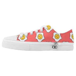 Happy Eggy Low Top Shoes Printed Shoes