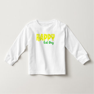 Happy Eid Day Toddler Long Sleeve T-Shirt