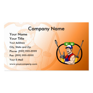 Happy Electrician Pack Of Standard Business Cards