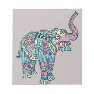 Happy Elephant Notepad