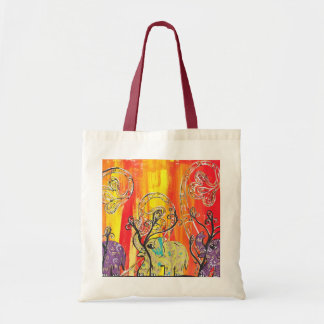 Happy Elephant Parade tote bag